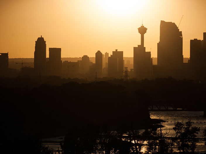 Calgary Summer Haze