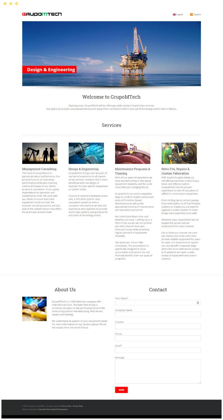 GrupoMTech Website #1