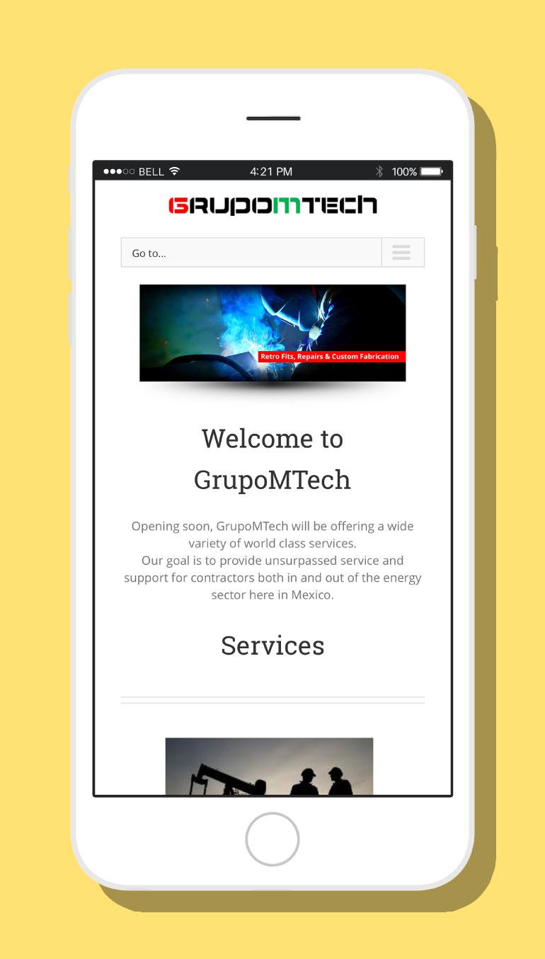 GrupoMTech Website #2